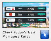 Find today's Mortgage Rates in Canada